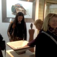 Besuch im Kunstraum Churfranken in Klingenberg