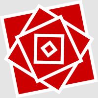 Logo der Jusos in Bayern (stilisierte Rose)